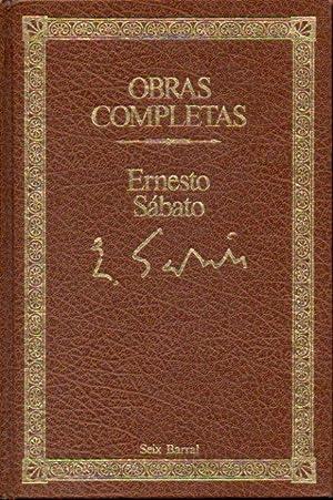 OBRAS COMPLETAS. Narrativa Completa, 1. EL TÚNEL: Sábato, Ernesto.