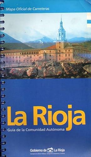 LA RIOJA. MAPA OFICIAL DE CARRETERAS. Guía: Consejería de Obras