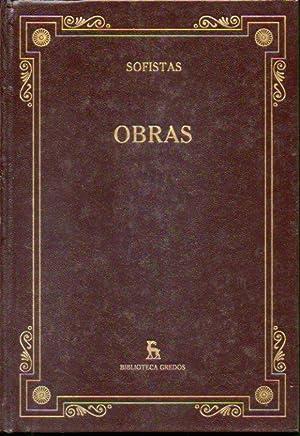 OBRAS. Introducción General de Eugenio R. Luján.: Sofistas (Protágoras, Jeníades,