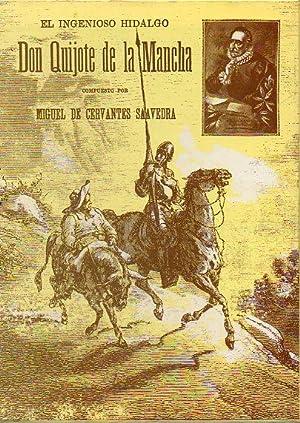 DON QUIJOTE DE LA MANCHA. Con las ilustrs. de Gustavo Doré grabadas por Pisan.: Cervantes ...