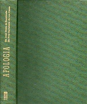 APOLOGÍA. Traducción castellana de los textos originales: De Sepúlveda, Juan