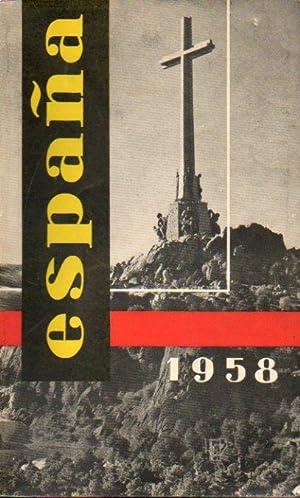 ESPAÑA 1958.: Ministero de Información y Turismo.
