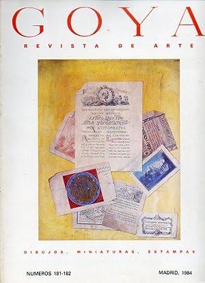 GOYA. Revista de Arte. Nº 181-182. La: Pardo Canalis, Enrique