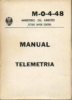 MANUAL DE TELEMETRÍA. M-O-4-48.: Ministerio del Ejército.