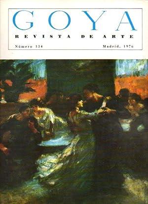 GOYA. Revista de Arte. Nº 134. Ricardo: Camón Aznar, José