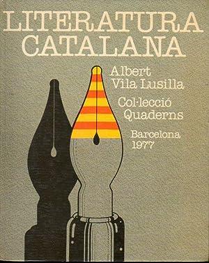 LITERATURA CATALANA.: Vila Lusilla, Albert.
