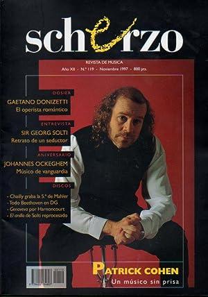 SCHERZO. Revista de Música. Año XII. Nº: Moral, Antonio (Dir.)