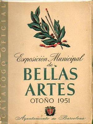 CATÁLOGO OFICIAL DE LA EXPOSICIÓN MUNICIPAL DE BELLAS ARTES DE BARCELONA. OTOÑ...