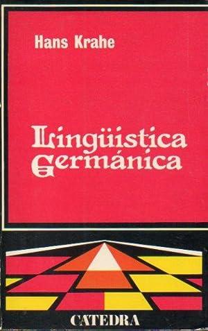 LINGÜÍSTICA GERMÁNICA. Presentación de Emilio Lorezno. Trad. Mª ...