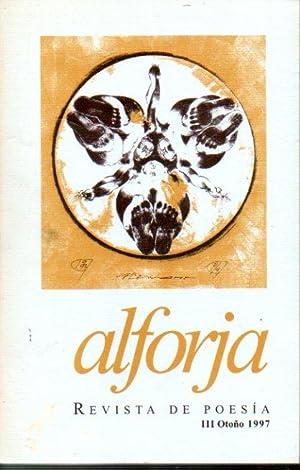 ALFORJA. Revista de Poesía. Nº III. Thomas: Anaya, José Vicente