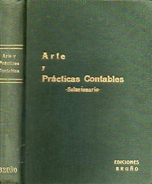 ARTE Y PRÁCTICAS CONTABLES. SOLUCIONARIO. Cbta. delantera: Ediciones Bruño.
