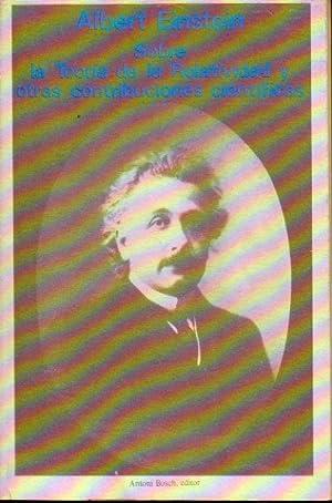 SOBRE LA TEORÍA DE LA RELATIVIDAD Y: Einstein, Albert.