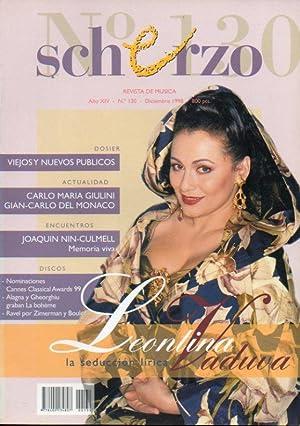 SCHERZO. Revista de Música. Año XIV. Nº: Moral, Antonio (Dir.)