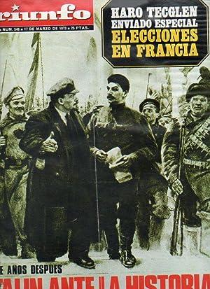 TRIUNFO. 5ª Época. Año XXVII. Nº 546.: Ezcurra, José Ángel