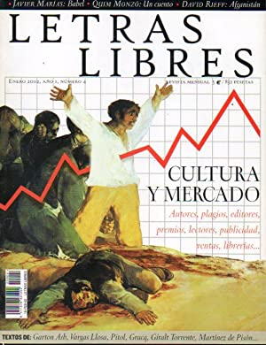 LETRAS LIBRES. Edición España. Revista Mensual. Año: Krauze, Enrique (Dir.)