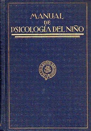 MANUAL DE PSICOLOGÍA DEL NIÑO. Textos de: Murchison, Carl (Ed.)