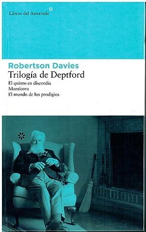 TRILOGÍA DE DEPTFORD. 1. EL QUINTO EN: Davies, Robertson.