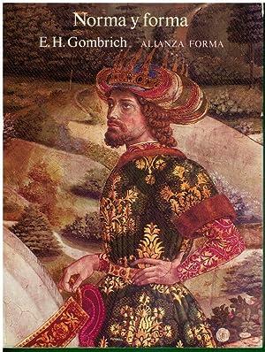 NORMA Y FORMA. Con sellos biblioteca. Trad.: Gombrich, E. H.