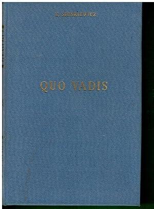 QUO VADIS. Trad. Luis Hernández Alfonso.: Sienkiewicz, E.