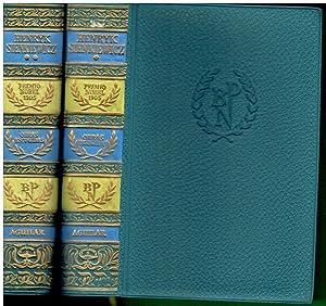 OBRAS ESCOGIDAS. 2 vols. I. A SANGRE: Sienkiewicz, Henryk.