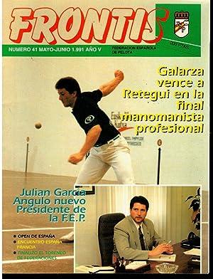 FRONTIS. REVISTA INFORMATIVA DE LA FEDERACIÓN ESPAÑOLA: García Angulo, Julian