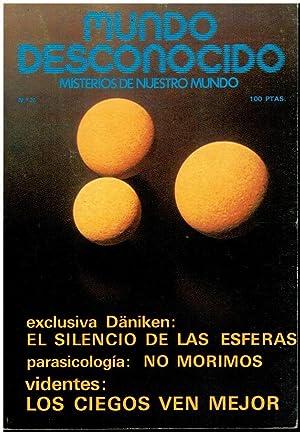 MUNDO DESCONOCIDO. Misterios de nuestro mundo. Nº: Faber-Kaiser, Andreas (Dir.)