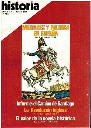 HISTORIA 16. Año I. Nº 2. Informe: Pardo de Santayana,