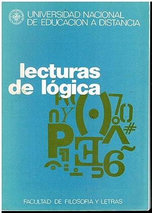 LECTURAS DE LÓGICA. Selección, traducción y notas: Vega, Luis (Ed.)
