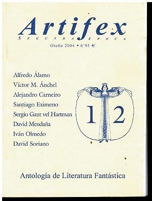 ANTOLOGÍA DE LITERATURA FANTÁSTICA. Textos de Alfredo: V.V. A.A.