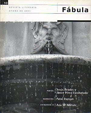 FÁBULA. Revista Literaria. Nº 10. Poemas de: Villar Flor, Carlos
