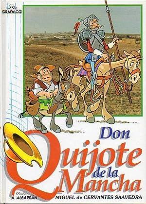 DON QUIJOTE DE LA MANCHA. Adaptación e ilustraciones de Antonio Albarrán.: Cervantes ...