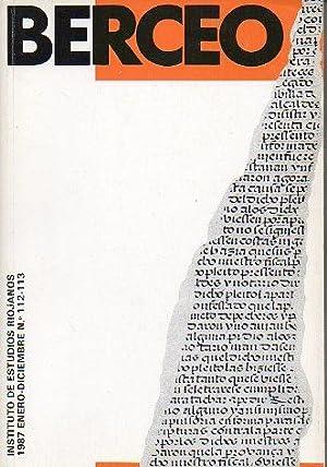 Revista: BERCEO. Nº 112-113. Aproximación a la: Delgado Idarreta, José