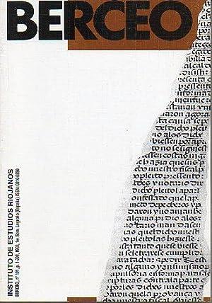 Revista: BERCEO. Nº 124. Efectos e las: Delgado Idarreta, José
