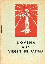 6973cd2d1af NOVENA A LA VIRGEN DE FÁTIMA.  Velasco