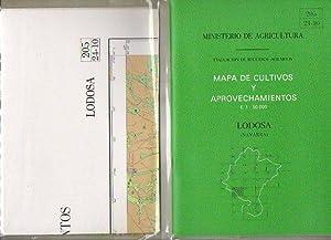 MAPA DE CULTIVOS Y APROVECHAMIENTOS. E. 1: Ministerio de Agricultura