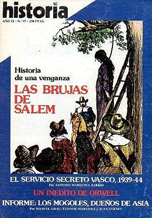 HISTORIA 16. Año IX. Nº 97. Un: Solar Cubillas, J.
