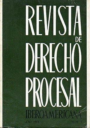 """REVISTA DE DERECHO PROCESAL IBEROAMERICANA. Nº 4. J. S: Martín Ostos: """"El ..."""