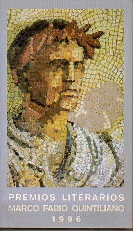 PREMIOS LITERARIOS MARCO FABIO QUINTILIANO 1996. Poesía: V.V. A.A.