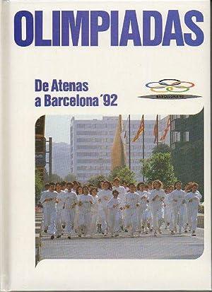 OLIMPIADAS. DE ATENAS A BARCELONA 92. Vol.: Arcel.