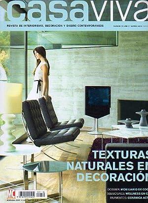 CASA VIVA. Revista Mensual de Interiorismo, Decoración y Diseño Contemporáneos...