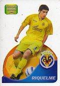 Cromos. LAS FICHAS DE LA LIGA. FICHAS LIGA 2006. Lamincards, 81. Juan Román RIQUELME.: Liga ...