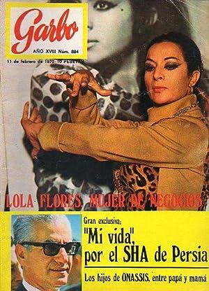 Revista GARBO. Año XVIII. Nº 884. Lola: G. de Nadal,