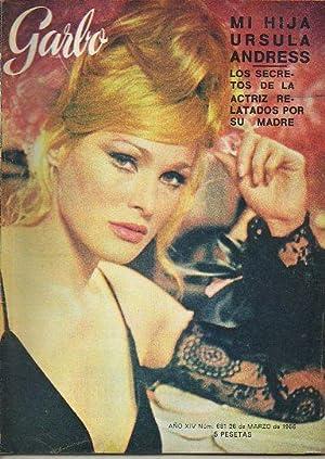 Revista GARBO. Año XIV. Nº 681. Mi: G. de Nadal,