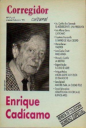 Revista CORREGIDOR CULTURAL. Nº 7-8. Enrique Cadícamo.: Pampín, Manuel (Dir.)