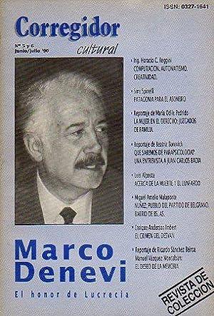 Revista CORREGIDOR CULTURAL. Nº 5-6. Marco Denevi: Pampín, Manuel (Dir.)