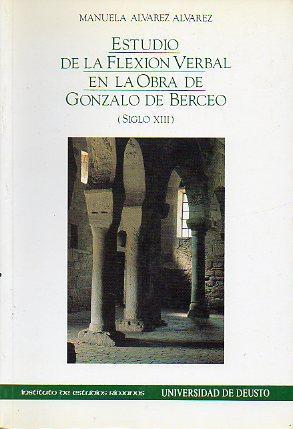 ESTUDIO DE LA FLEXIÓN VERBAL EN LA: Álvarez Álvarez, Manuela.