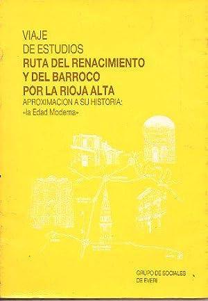 VIAJE DE ESTUDIOS. Ruta del Renacimiento y: Grupo de Sociales
