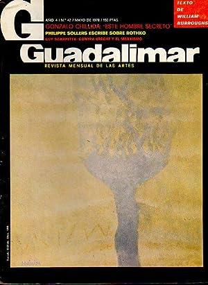 GUADALIMAR. Revista mensual de las Artes. Año 4. Nº 42.: Fernández Braso, Miguel (Dir.)