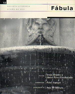 FÁBULA. Revista Literaria. Nº 10.: Villar Flor, Carlos