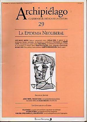 ARCHIPIÉLAGO. Cuadernos de Crítica de la Cultura. Nº 29. Carpeta: La Epidemia ...